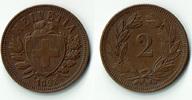 2 Rappen 1893 Schweiz Schweiz, Kursmünze 2 Rappen 1893 B, Erhaltung sie... 3,00 EUR  zzgl. 5,00 EUR Versand