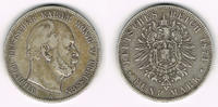 5 Mark 1874 A Preußen Preußen 5 Mark 1874 A, Wilhelm I., Erhaltung sieh... 28,00 EUR  zzgl. 5,00 EUR Versand