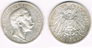 3 Mark 1912 A Preußen Kaiserreich, Preußen 3 Mark 1908 A, Wilhelm II., ... 13,00 EUR  zzgl. 5,00 EUR Versand