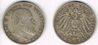 2 Mark 1900 Württemberg Kaiserreich, Württemberg 2 Mark 1900, Wilhelm, ... 27,00 EUR  zzgl. 5,00 EUR Versand
