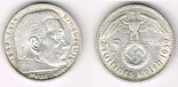5 Reichsmark 1939 E Drittes Reich Drittes Reich, 5 Reichsmark 1939 E, H... 25,00 EUR  zzgl. 5,00 EUR Versand