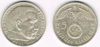 5 Reichsmark 1937 F Drittes Reich Drittes Reich, 5 Reichsmark 1937 F, H... 13,50 EUR  zzgl. 5,00 EUR Versand