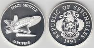 25 Rupees 1993 Seychellen Seychellen, 25 Rupien Silbergedenkmünze 'Raum... 27,00 EUR  zzgl. 5,00 EUR Versand