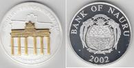10 Dollars 2002 Bank of Nauru Nauru 2002, 10 Dollars, Skulpturmünze Bra... 69,00 EUR  zzgl. 5,00 EUR Versand