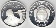 10 Dollars 1994 Nauru Nauru 1994, 10 Dollars, 'Galileo Galilei', PP, Er... 35,00 EUR  zzgl. 5,00 EUR Versand
