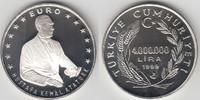 4.000.0000 Lira (4 Millionen Lira) 1999 Türkei Türkei, 4000000 Lira, 'M... 22,00 EUR  zzgl. 5,00 EUR Versand