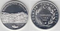 10.000.0000 Lira (10 Millionen Lira) 2001 Türkei Türkei, 10000000 Lira,... 37,50 EUR  zzgl. 5,00 EUR Versand