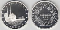 4.000.0000 Lira (4 Millionen Lira) 1999 Türkei Türkei, 4000000 Lira, 'M... 23,00 EUR  zzgl. 5,00 EUR Versand
