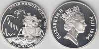 10 Dollars 1994 Fidschi Inseln Fidschi Inseln, Mondlandung - Lunar Modu... 29,00 EUR  zzgl. 5,00 EUR Versand