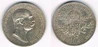 1 Krone 1908 Österreich Kursmünze 1 Krone 1908, Franz Josef I., Regieru... 5,50 EUR  zzgl. 5,00 EUR Versand