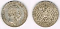 5 Mark 1899 E Sachsen Kursmünze, 5 Mark 1899 E, Albert, siehe Scan! gut... 139,00 EUR  zzgl. 5,00 EUR Versand