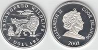 2 Dollars 2002 Cook Islands Cook Islands, 2 Dollar, Bedrohte Tierwelt -... 12,00 EUR  zzgl. 5,00 EUR Versand