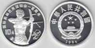 10 Yuan 1994 China China, Silbermünze Olympische Spiele, Bogenschießen,... 28,00 EUR  zzgl. 5,00 EUR Versand