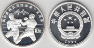 10 Yuan 1993 China China, Silbermünze Olympische Spiele, Boxen, siehe S... 27,00 EUR  zzgl. 5,00 EUR Versand