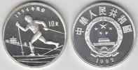 10 Yuan 1992 China China, Silbermünze Olympische Winterspiele, Langlauf... 25,00 EUR  zzgl. 5,00 EUR Versand