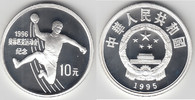 10 Yuan 1995 China China, Silbermünze Olympische Winterspiele, Handball... 37,00 EUR  zzgl. 5,00 EUR Versand