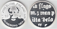 10 Euro 2004 Finnland Finnland 2004, 10 Euro, 'J. L. Runeberg', PP, sie... 20,00 EUR  zzgl. 5,00 EUR Versand