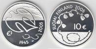 10 Euro 2005 Finnland Finnland 2005, 10 Euro, '60 Jahre Frieden - Ende ... 20,00 EUR  zzgl. 5,00 EUR Versand