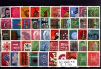 BRD 50 Stck 50 verschiedene postfrische Briefmarken auf DIN-A5-Karte! Gute Mischung!