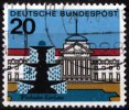 BRD 20 Pfennig BRD, Mi.-Nr. 420 I, <i>Hauptstdte der Lnder der BRD</i>
