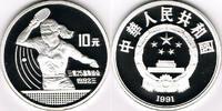 10 Yuan 1991 China China, Silbermünze Olympische Spiele, Tischtennis, s... 32,00 EUR  zzgl. 5,00 EUR Versand