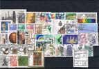 BRD Jahrgang 1987 komplett Briefmarken BRD, Jahrgang 1987, komplett gestempelt