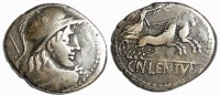 AR-Denar 88 v. Chr Antike - Römische Republik Cn. Cornelius Lentulus Cl... 75,00 EUR  zzgl. 5,00 EUR Versand