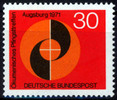 BRD 30 Pfennig BRD, Mi.-Nr. 679 I,  <i>komenisches Pfingsttreffen</i>