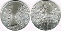 Finnland 10 Euro 2002 Stempelglanz Finnlan...