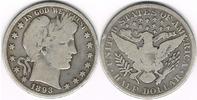 1/2 Dollar 1893 USA Halb-Dollar Kursmünze 1893, Charles E. Barber, Erha... 32,00 EUR  zzgl. 5,00 EUR Versand