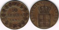 10 Lepta 1837 Griechenland Griechenland, 10 Lepta 1837, König Otto, Erh... 59,00 EUR  zzgl. 5,00 EUR Versand