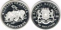 250 Schilling 2000 Somalia Somalia 2000, 250 Schilling, Nashorn - Wilde... 27,00 EUR  zzgl. 5,00 EUR Versand
