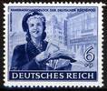 6 + 9 Pfennig 1944 Deutsches Reich Deutsches Reich, Mi.-Nr. 888 V,  Hel... 28,00 EUR