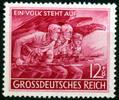12 + 8 Pfennig 1945 Deutsches Reich Deutsches Reich, Mi.-Nr. 908 V, F31... 32,00 EUR  zzgl. 5,00 EUR Versand