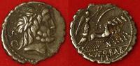 AR-Denar 83/82 v. Chr Antike - Römische Republik Q. Antonius Balbus, Av... 100,00 EUR