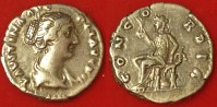 Denar Gest.175 n.Chr. Römische Kaiserzeit - Faustina Filia AR-Denar der... 95,00 EUR