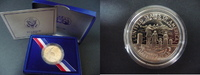 Half Dollar 1986 USA USA 1986, 'Ellis Island - Freiheitsstatue', PP, Ha... 7,00 EUR  zzgl. 5,00 EUR Versand