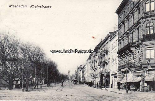 Wiesbaden Möbelhaus 1909 wiesbaden ansichtskarte postkarte wiesbaden rheinstrasse 2 3 ma shops
