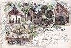 1899 Soest Ansichtskarte/Postkarte/Gruss aus Soest/Altbier Brauerei, G... 59,00 EUR