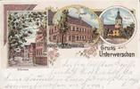 1908 Hohenmölsen/Unterwerschen Ansichtskarte/Postkarte/Litho/Gruss aus... 65,00 EUR  +  12,00 EUR shipping