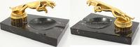 O.J. England Automobil/Vergoldetes Jaguar Logo auf Marmor Aschenbecher 2  180,00 EUR  +  12,00 EUR shipping