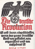 O.J. Drittes Reich Schmuckblatt/Die deutsche Revolution ist erst dann ... 110,00 EUR  +  12,00 EUR shipping