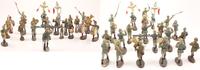 O.J. Deutsches Reich Massefiguren / Spielzeug-Soldaten / Konvolut von ... 115,00 EUR  +  12,00 EUR shipping