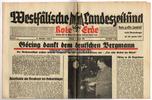 13. 1. 1941 Drittes Reich/Westfalen Westf...