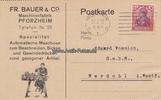1922 Werdohl/Pforzheim Ansichtskarte / Postkarte / Fr. Bauer & Co. Mas... 8,00 EUR incl. BTW., plus 8,00 EUR verzending