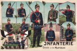 Deutsches Reich  Ansichtskarte/Postkarte/Infanterie/Gruss von der Musterung