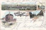 1899 Herne Litho/Gruss aus Herne/Zeche Chamrock/Zeche von der Heydt/Ev... 55,00 EUR  +  12,00 EUR shipping