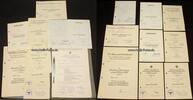 1938-1944 Drittes Reich Urkundengruppe von Oberleutnant Alfred Büttner... 760,00 EUR  +  20,00 EUR shipping