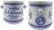 O.J. Nordhausen Steinzeug / Kautabak Topf von C.A. Hanewacker Nordhaus... 59,00 EUR  +  12,00 EUR shipping