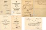1940-1944 Drittes Reich/Stettin 4 Urkunden und Dokumente von Oberfeldw... 160,00 EUR  +  12,00 EUR shipping